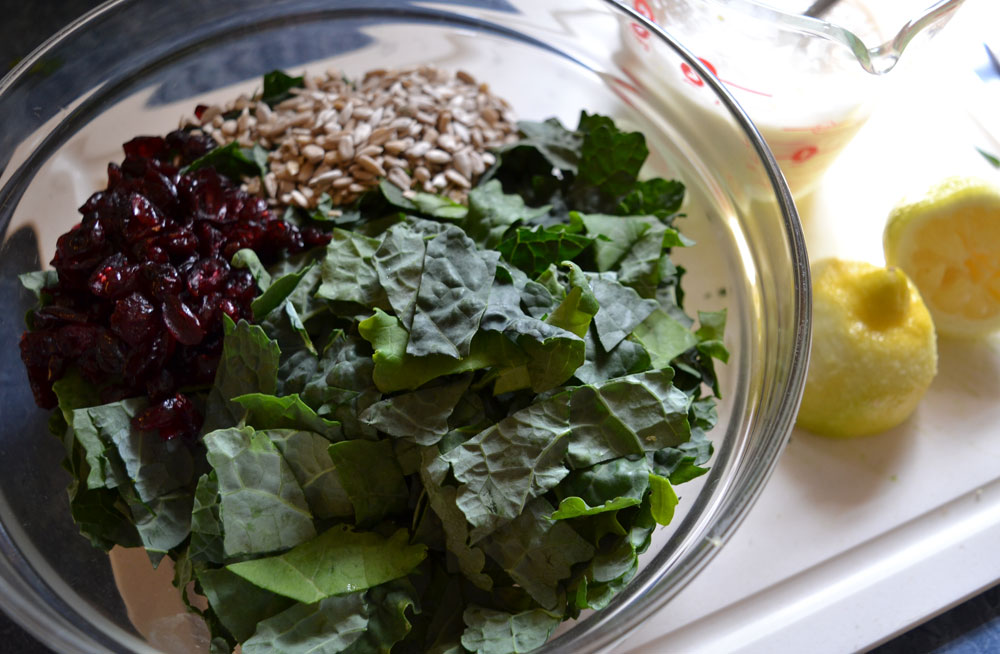 Kale Craisin Salad